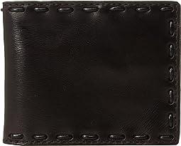 John Varvatos Star U.S.A. - Leather Pick-Stitch Bifold Wallet