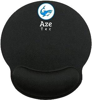 {Aze Tec} Ergonomic Memory Foam Mouse Pad Wrist Rest Support Wrist Cushion Support – Lightweight Rest Mousepad for Mouse, ...