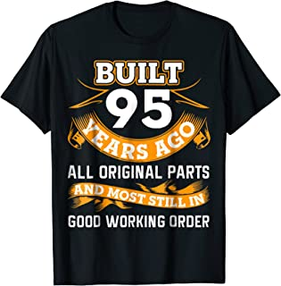 Funny 95th Birthday Shirts 95 Years Old Gifts