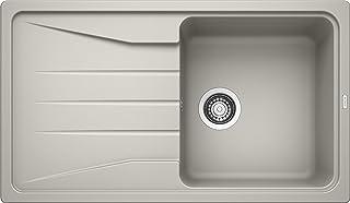 BLANCO Sona 5 S, Küchenspüle, Silgranit Puradur, perlgrau, reversibel, 1 Stück, 519677