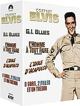 Paramount Coffret Elvis: G.I. Blues + L'homme à tout faire + L'idole d'Acapulco + 3 gars, 2 filles et un trésor [Italia] [DVD]