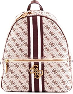 Luxury Fashion | Guess Womens HWSB7304330BROWN White Backpack | Fall Winter 19