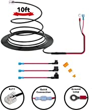 Radar Detector 10ft Hardwire Kit for Escort Valentine One Uniden Beltronics | 3 Sizes of Tap a Fuse Included | Quick Connection Plug and Play