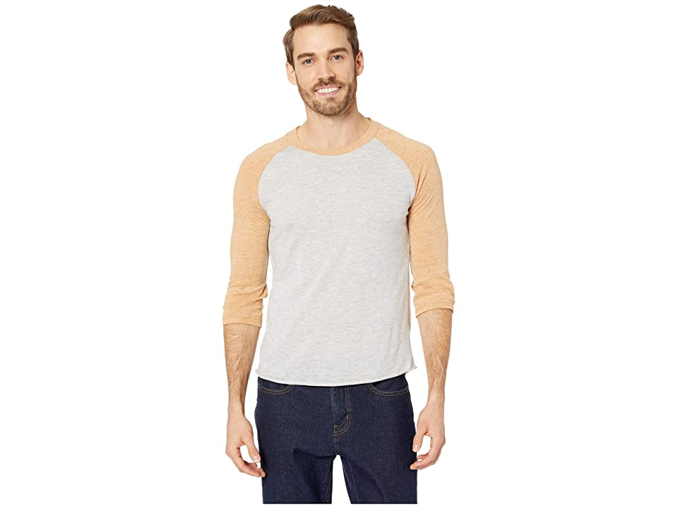Alternative Baseball Tee (Eco Oatmeal/Eco Warm Gold) Men