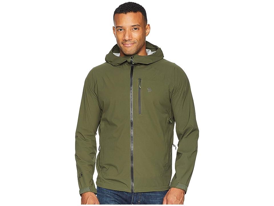 Mountain Hardwear Stretch Ozonictm Jacket (Surplus Green) Men