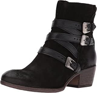 Miz Mooz Darien Women's Black Ankle Boot
