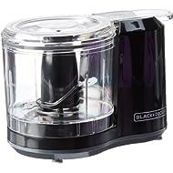 BLACK+DECKER 1.5-Cup Electric... BLACK+DECKER 1.5-Cup Electric Food Chopper, Improved Assembly, Black, HC150B