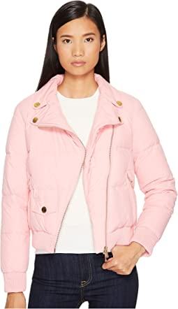 Boutique Moschino Moto Puffer Jacket