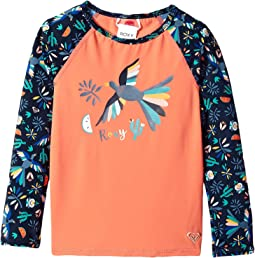 Roxy Kids - Birdy Fashion Lycra Rashguard (Toddler/Little Kids)