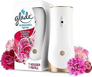 Glade Spray désodorisant automatique, désodorisant automatique, désodorisant et parfum ambiant, kit de démarrage avec supp...