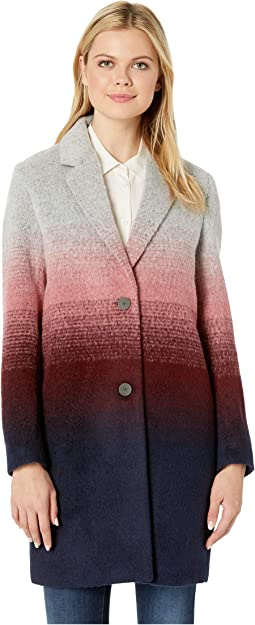 Bellaire Ombre Wool Two-Button Notch Collar