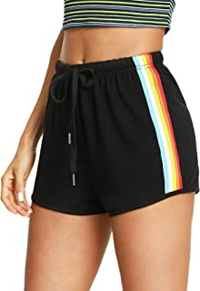 SweatyRocks Women's Dolphin Running Workout Shorts Yoga...