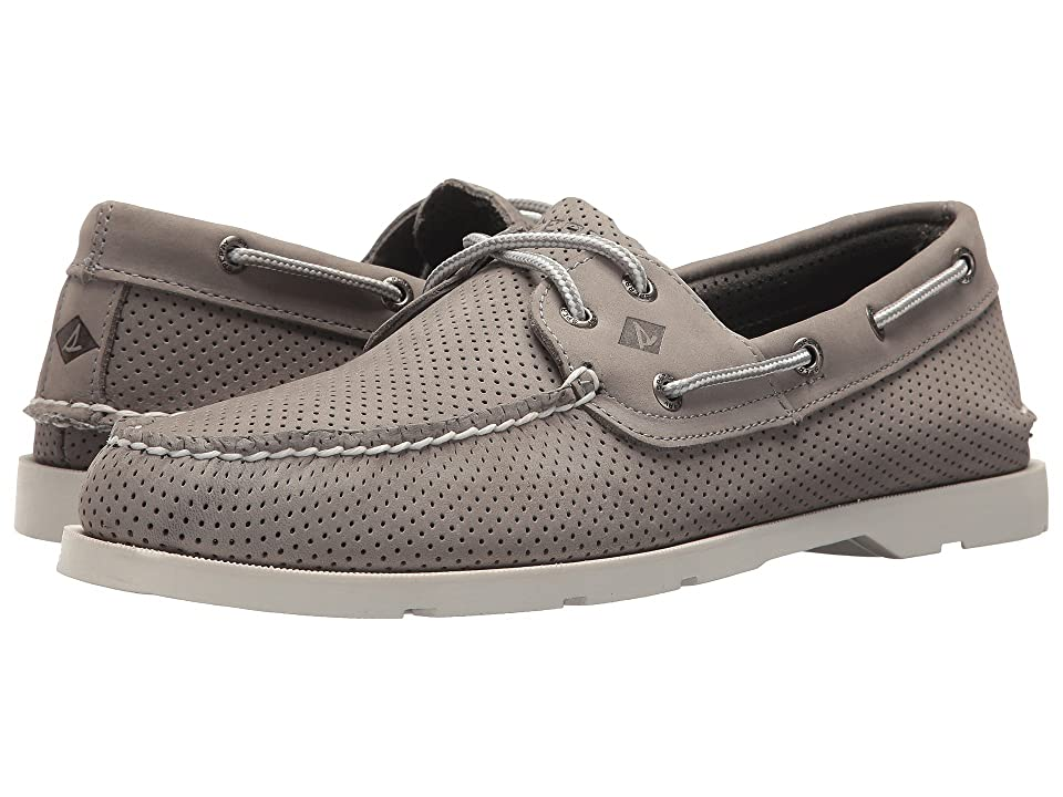 Sperry Leeward 2-Eye Perf (Grey) Men