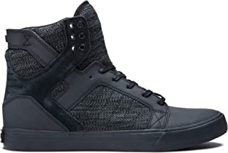 Skytop High Top Skate Shoes, Black/Dark Grey-Black, 11.5 M US Women/10 M US Men