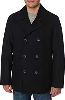 Men's Classic Double Breasted Peacoat