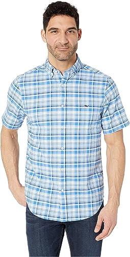 Blackbeard Plaid Short Sleeve Classic Tucker Shirt
