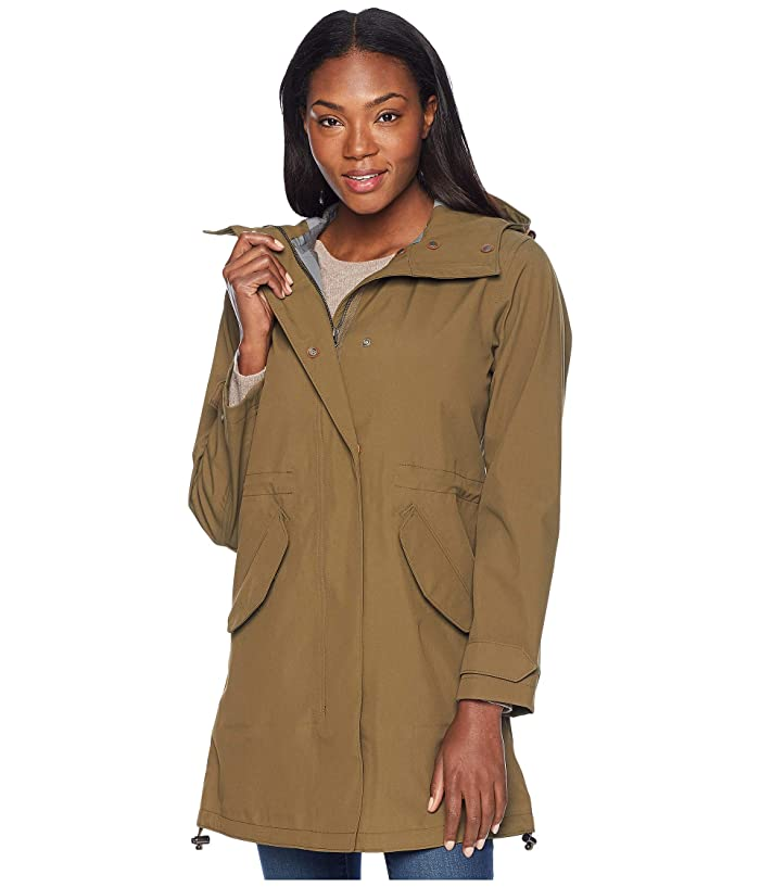 Filson Tamarack Rain Shell (Marsh/Olive) Women's Coat