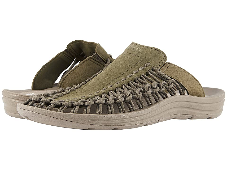 Keen Uneek Slide (Dusty Olive/Brindle) Men