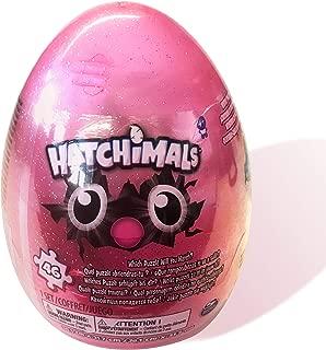 Hatchimals 46Piece Mystery Glitter Puzzle with Storage Egg