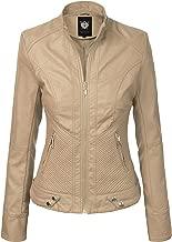 Best beige leather jacket womens Reviews