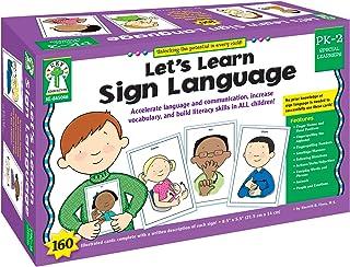 Let's Learn Sign Language, Grades PK - 2
