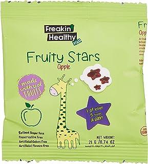 Freakin' Healthy Apple Fruity Stars Jelly, 21 gm