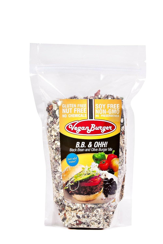 Vegan Burger (9 Patties) - B.B. & Ohh!
