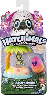 Hatchimals CollEGGtibles — Breezy Beach Hatchy Home Light-up Nest with Exclusive Season 4 CollEGGtible, for Ages 5 and Up