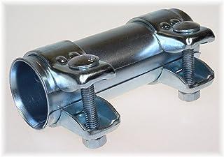 Rohrschelle Auspuff Verbinder für Ø40mm-Rohre 125mm lang verzinkt