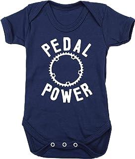 HippoWarehouse Pedal Power 3 Chaleco para bebés Pijama de Manga Corta para niños Unisex