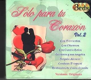 Solo Para Tu Corazon Vol 2 IMPORT - 3 CD'S