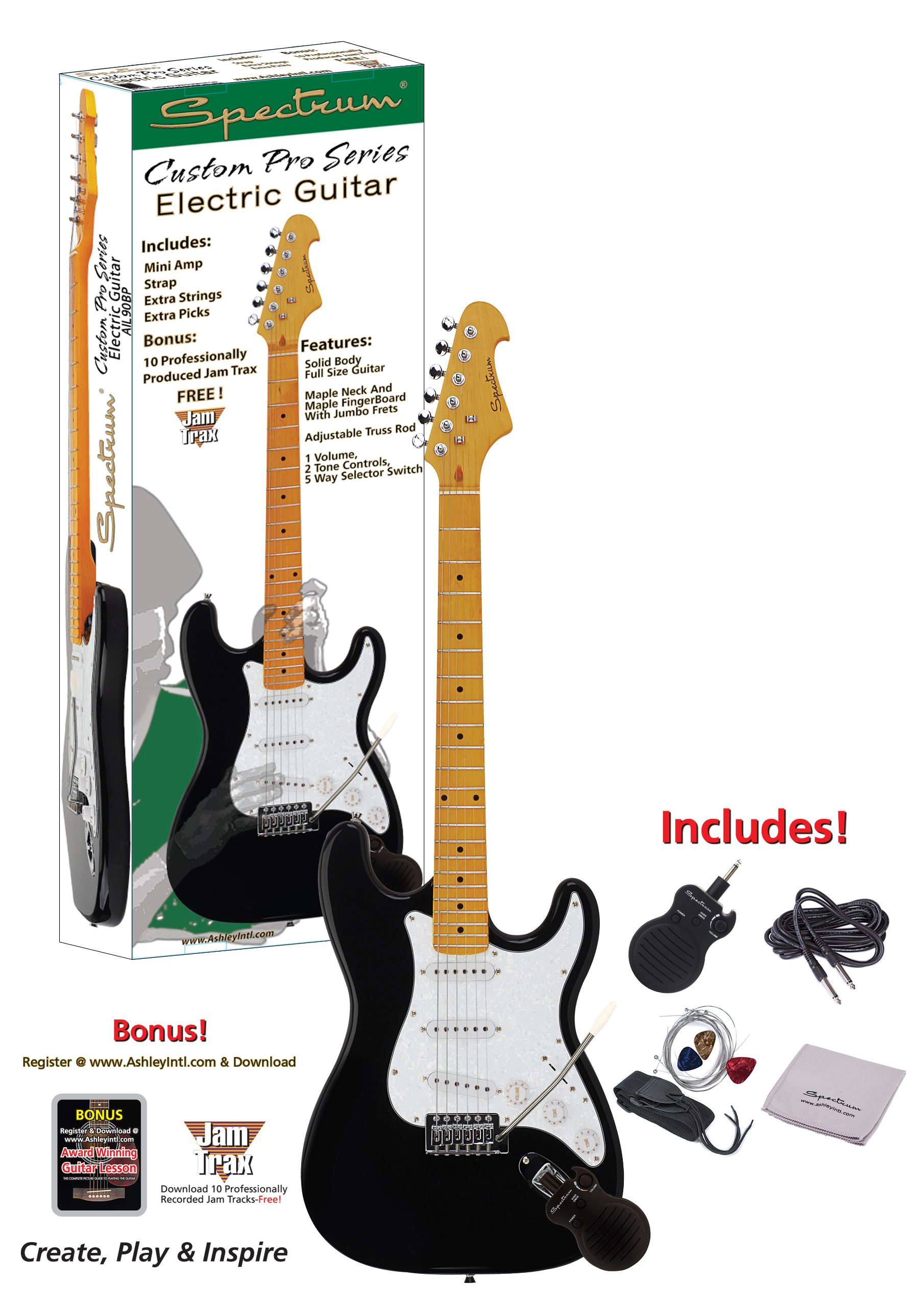 SPECTRUM 90BP - Guitarra: Amazon.es: Instrumentos musicales