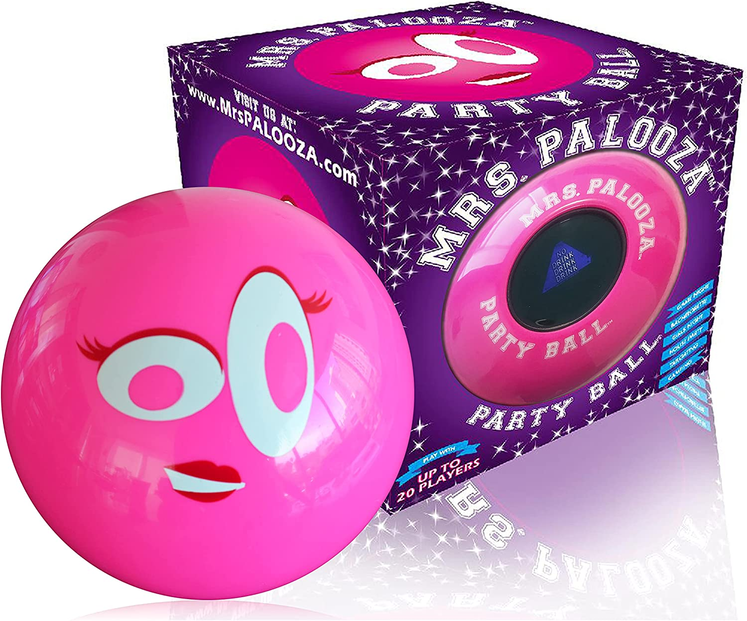 DRINK-A-PALOOZA PARTY BALL Oakland Mall - Fun overseas for Part Adults Drinking Games