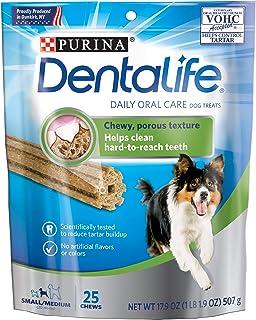 Dentalife Small/Medium Dog Treats, 25 Chews