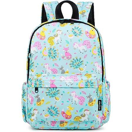Daycare Kindergarten Preschool Nursery Children Bag with Removable Chest Strap MOUNTAINTOP Toddler Backpack for Kids Boys Girls