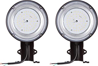 AmazonBasics 35W LED Barn Light, Dusk to Dawn with Photocell, 4000 Lumens, 50000 Hours | Daylight, 2-Pack