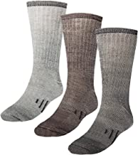 3 Pairs Thermal 80% Merino Wool Socks: Thermal Socks For Winter, Crew Socks, Hiking Socks, Mens Socks, Socks Women