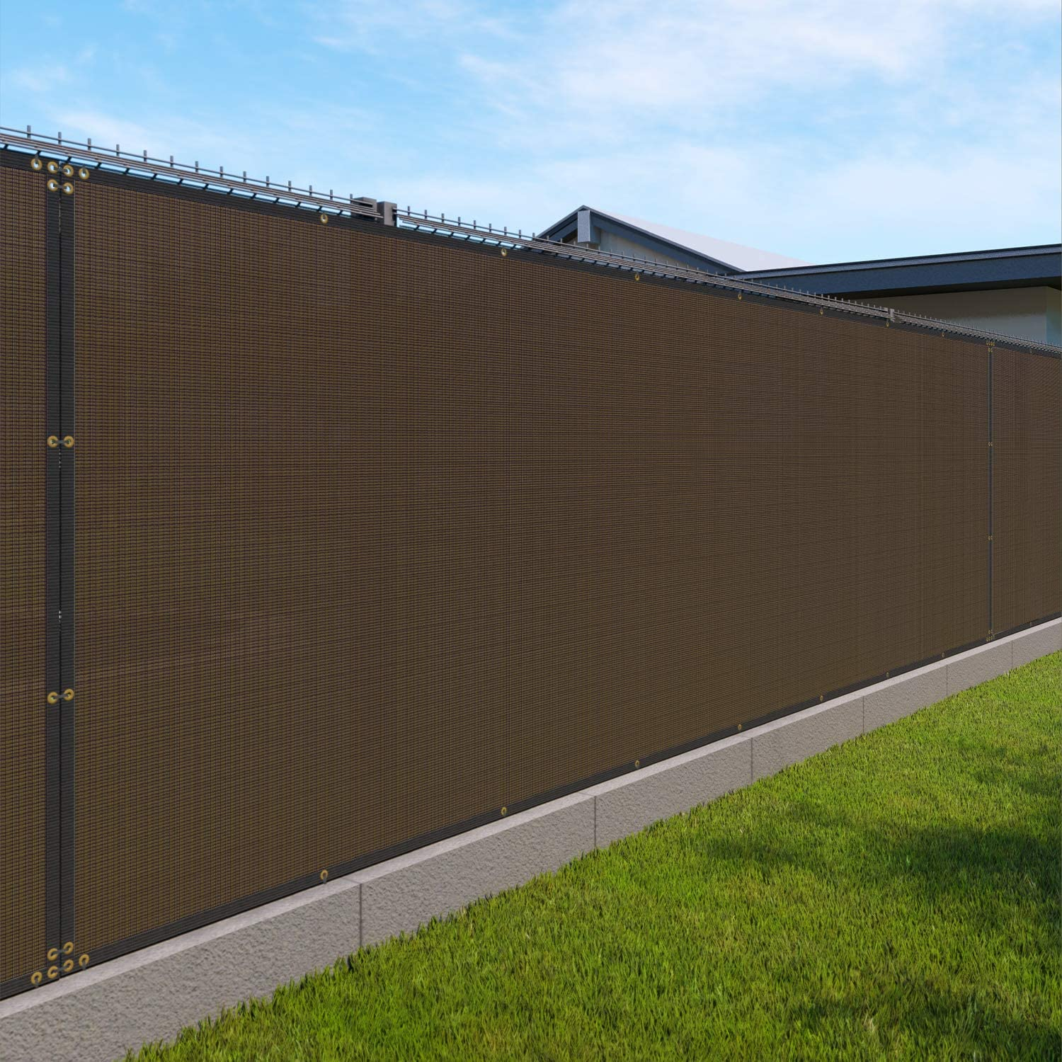 Windscreen4less Outdoor Privacy Screen In stock for Backyard F New York Mall Link Chain