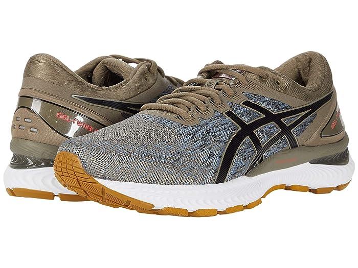 ASICS  GEL-Nimbus 22 (Mink/Black) Mens Running Shoes