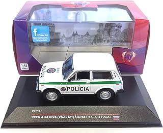 Générique Lada Niva VAZ 2121 Police 1993 1:43 Car ist IST118