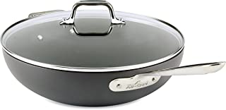 all clad flat bottom wok