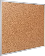 Quartet Cork Board, Bulletin Board, 6' x 4', Corkboard, Aluminum Frame (2307)