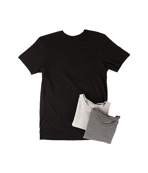 Polo Ralph Lauren 3 Pack Crew T Shirt At Zappos Com