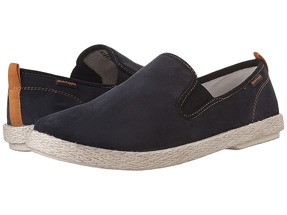 Hush Puppies Bold YahMan (Navy Suede) Men