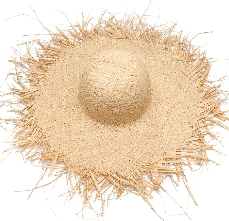 Long Beach Mall Lianaic Sun hat Women Complete Free Shipping Raffia Female S Summer Beach Kids for Hats