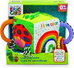 Eric Carle - Soft Learning Cube (Boxed) Activity Toy,13 x 20 x 20cm