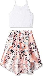 Amy Byer Girls' Big 2-Piece Dress Set