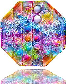 اسباب بازی حسی Doztar Push Pop Bubble Fidget - (آبی با فلامینگو)