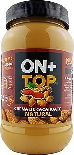 ONTOP CREMA DE CACAHUATE NATURAL 480g. 100% NATURAL 100%