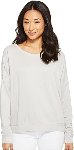 Savannah Dolman Sleeve Fleece Sweatshirt
